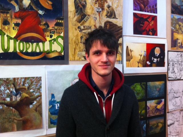 Etudiant en formation d 39 illustrateur nantes interview - Salon etudiant nantes ...