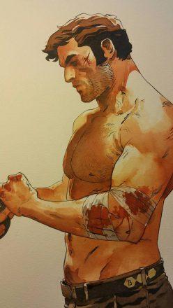 Bob Morane par le dessinateur Dimitri Armand