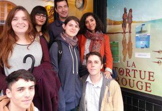 Les étudiants en cinéma d'animation de l'école Pivaut Nantes