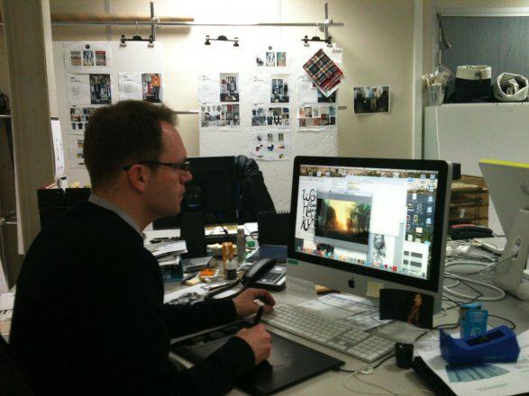 Alexandre Guillaume, cinéma d'animation - graphisme