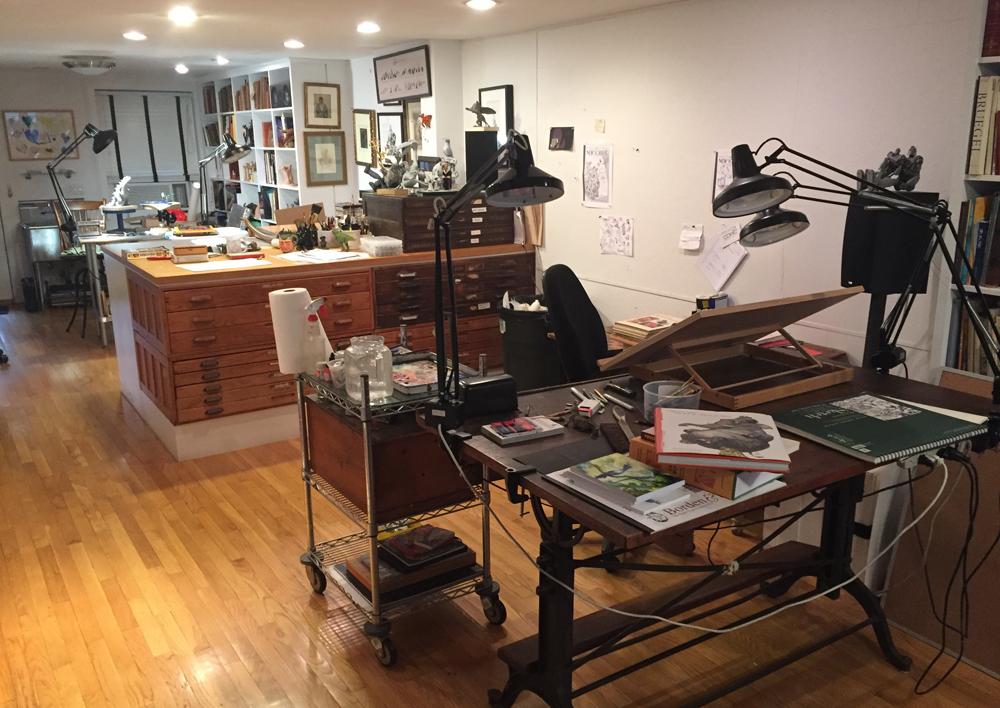 Rencontres atelier NYC