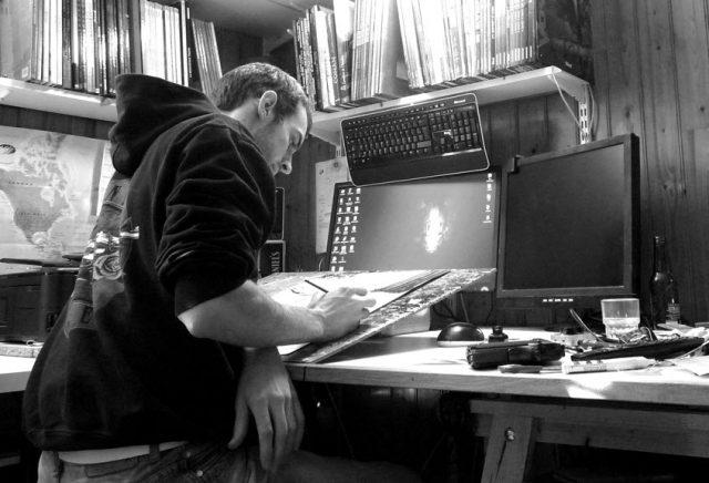 Denis Bechu, dessinateur BD