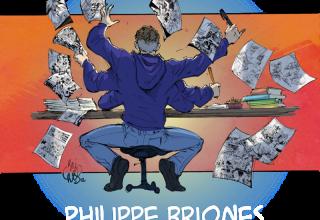 Philippe Briones , dessinateur comics et bande dessinée