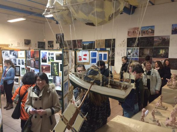 créations des étudiants de l'école art et design pivaut