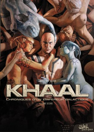 Khall, bande dessinée SF de Valentin Sécher et Louis