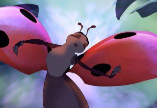 La coccinelle et le puceron, court métrage d'animation