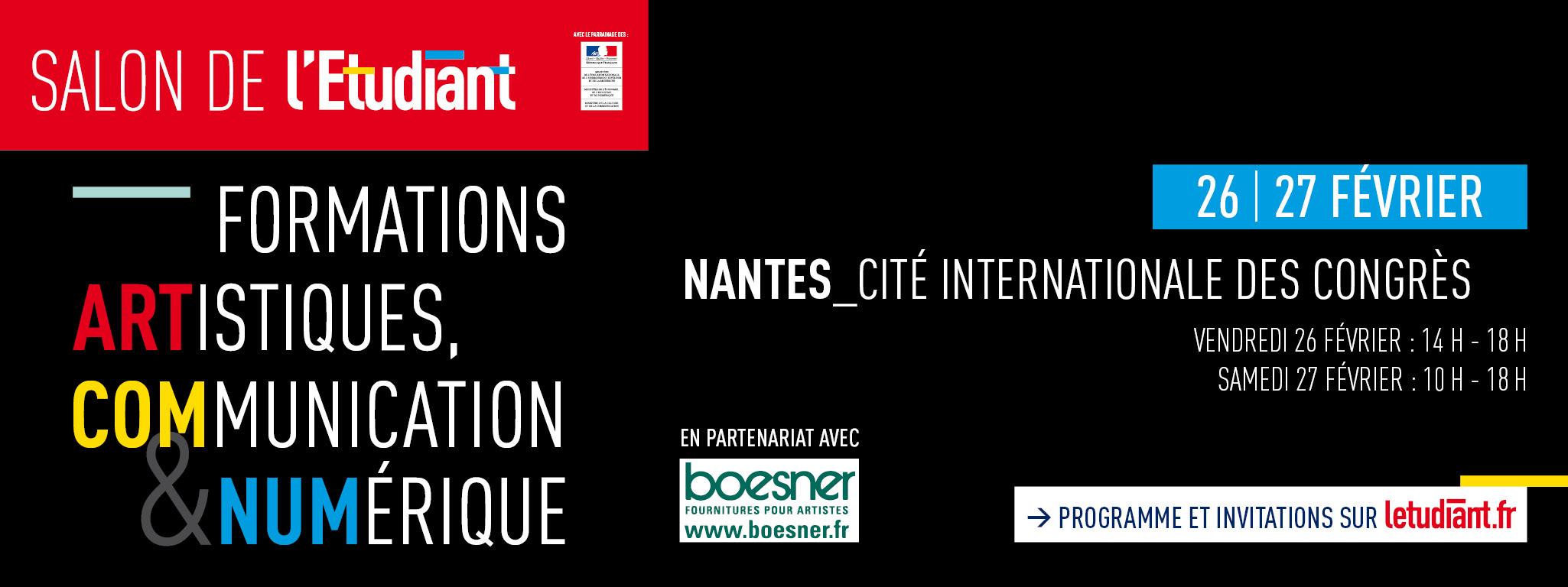 Salon des formations artistiques de nantes 2016 ecole pivaut for Salon de formation