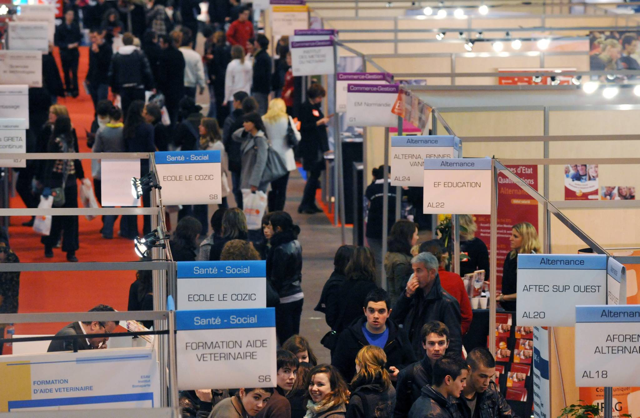 Salon de l 39 tudiant rennes formations et pr pas arts for Salon etudiant rennes