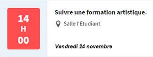 Voir les conférences sur le site letudiant.fr